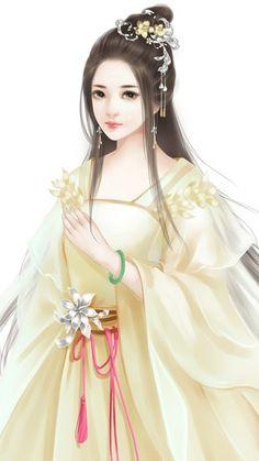 专辑详情 Chinese Picture, Chinese Style, Chinese Art, Lovely Girl Image, Girls Image, Female Cartoon Characters, Fantasy Art Women, Beautiful Chinese Girl, Fantasy Character Design