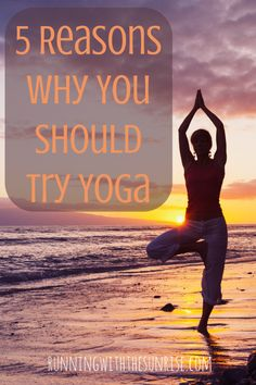 Five great reasons why you should try #yoga. Starting a yoga practice can change you both on and off your mat. Read why yoga is so beneficial and then give it a try!