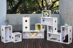 Bios Modular, por Biósfera Creativa  Inspirado por crear un mueble para su propia hija, este proyecto presenta condiciones bastante atractivas gracias a su diseño y funcionalidad.  http://www.podiomx.com/2015/08/bios-modular-por-biosfera-creativa.html