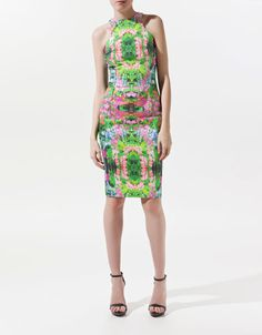 FLOWER PRINT DRESS - Dresses - Woman - ZARA