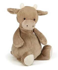 Look what I found on #zulily! 16'' Melly Moo Plush #zulilyfinds