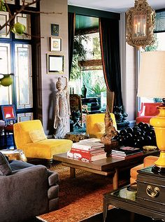 Designer Kelly Wearstler opens up about her favorite sources and decorating...