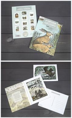 Postcard book by Angela Harding
