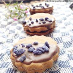 Laklritz-Cookies mit