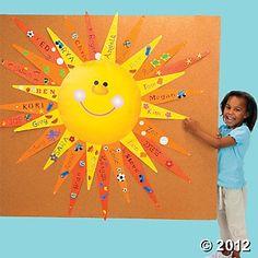 s is for sun bulletin board - Google Search
