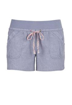 striped knit waist shorts with multicolor tie #maurices