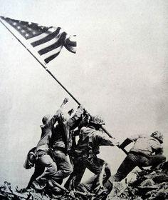 Iwo Jima Flag Raising Wallpapers - Wallpaper Cave