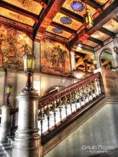 Inside Palacio Nacional de la Cultura Guatemala City Interior del Palacio Nacional de la Cultura Ciudad de Guatemala #VisitGuatemala #Hostel #Travel
