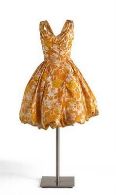 1953 cocktail dress