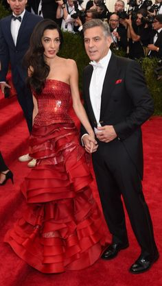 Pin for Later: Amal and George Clooney Make the Perfect Pair at the Met Gala