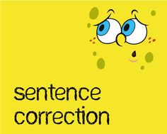 English grammar sentence correction online