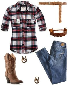 lol i use to dress something like this. plan button up t shirt rangolers and cow boy boots lol or romeos
