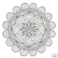 Les 339 Meilleures Images Du Tableau Coloriage Mandala Sur Pinterest