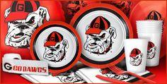 Georgia Bulldogs Party Supplies - Party City