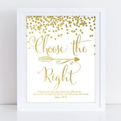 LDS Primary Theme 2017 CTR Choose the Right Primary Theme