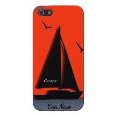 Sailboat Cover For iPhone SE/5/5s