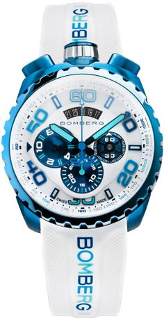 BOMBERG - BOLT-68 Blue Ice Chroma II Chronograph