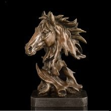 Mighty horse sculpture High Quality Brass sculptures animal bust Horse  head Statue Bronze Horses Figurine CZW-116 //Price: $US $338.63 & Up to 18% Cashback on Orders. //     #gifts