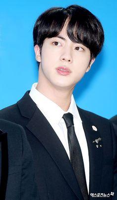 [PRESS] #Jin   171101 at LOVE MYSELF Campaign Press Conference #BTSLoveMyself ♡
