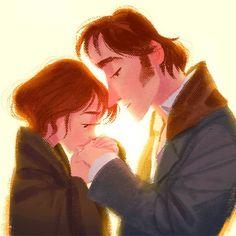 """Elizabeth y Fitzwilliam de """"Orgullo y Prejuicio"""""""