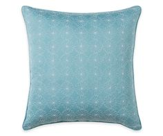 Wendy Bellissimo™ Sunrise Square Throw Pillow in Aqua | Wendy Bellissimo