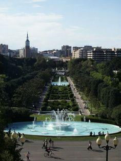 Mon endroit prefere de Saragosse <3 - Parque Grande