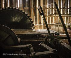 Old Sawmill, Ashtabula County Antique Engine Club, Williamsfield OH, 2013 By Kolman Rosenberg