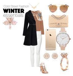 """""""Cold & Warm"""" by lovely9992 ❤ liked on Polyvore featuring Mother, Lingua Franca, Madden Girl, Christian Dior, Chanel, Burberry, Olivia Burton and Nam Cho"""
