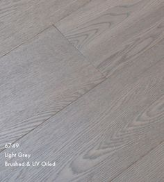 Furlong Majestic Light Grey Stained Engineered Wood Flooring Brushed & UV Oiled
