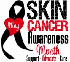 May is Skin Cancer Awareness Month.  Which is fitting for me, since my mom's birthday was in May.