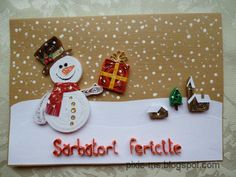 I finally got to make some Christmas cards this year. Paper Quilling Cards, Paper Quilling Tutorial, Paper Quilling Designs, Quilling Craft, Quilling Patterns, Christmas Cards To Make, Christmas Paper, Xmas Cards, Handmade Christmas