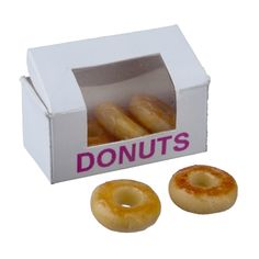 Box of Glazed Donuts $8.69 box & 5 removable donuts