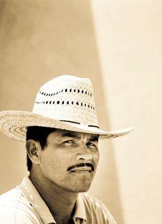 MEXICO: Guerrero State: Portrait of a proud Mexican man, Alvaro Serveva living in the small coastal town of La Mira (north of Ixtapa between Lázaro Cárdenas & Playa Azul)