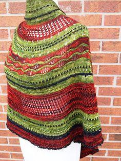 test knit-Misae shawl   Flickr - Fotosharing!