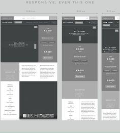 Windows on Tuscany Website redesign by Enzo Li Volti, via Behance Website Layout, Web Layout, Layout Design, Ui Web, Responsive Web Design, Wireframe Design, Web Mobile, App Design Inspiration, Grid Layouts