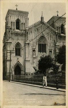 Sto.domingo church Retro Pi, Treaty Of Paris, President Of The Philippines, The Spanish American War, Intramuros, Filipiniana, Quezon City, Historical Architecture, Back In Time
