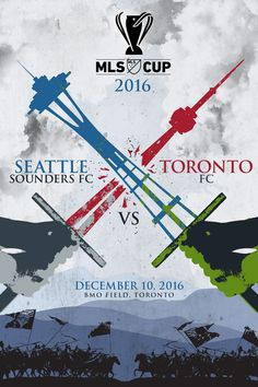 "Seattle Sounders fan tattoos MLS Cup ""Posters by the People"" design on his leg 
