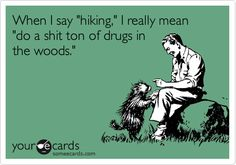 """What """"hiking"""" means to me"""