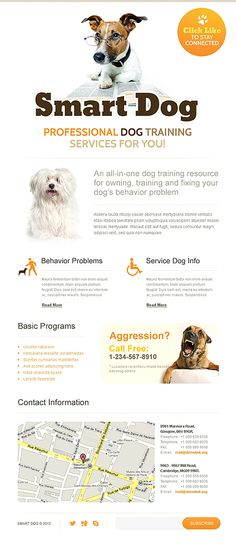 Smart Dog Facebook Template #pets #animals #website http://www.templatemonster.com/facebook-templates/40745.html?utm_source=pinterest&utm_medium=timeline&utm_campaign=dog