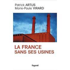 Plaidoyer pour la réindustrialisation de la France, où les auteurs expliquent pourquoi abandonner totalement le secteur industriel aux pays dits émergents ravage l'économie et l'emploi.  Cote: 6-201 ART