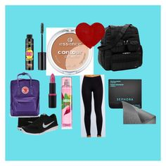 """""""May favourites """" by hoodiesforlife on Polyvore featuring NIKE, Essence, Sephora Collection and Fjällräven"""