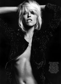 Eva Herzigova by Hedi Slimane for Vogue Paris 2009... www.fashion.net