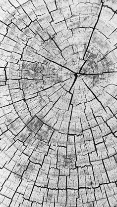Chopped wood pattern (black and white). Tap to see more Texture iPhone Wallpapers. - @mobile9 #iphone #texture #backgrounds