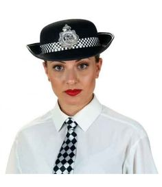 Καπέλο Αστυνομικίνας  Εγγλέζας Μαύρο