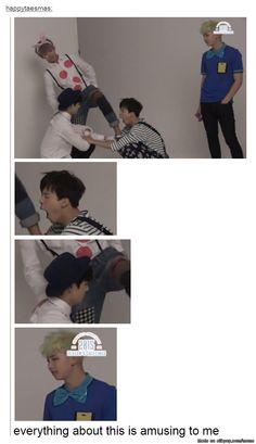 Namjoon judging the maknae line hard | allkpop Meme Center