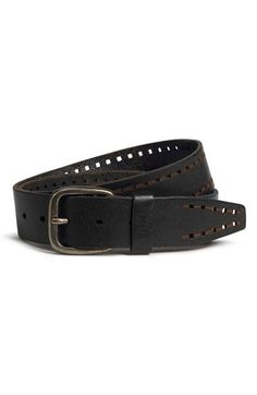 Trask 'Holt' Leather Belt