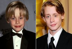 """MACAULAY CULKIN: movie @ 8 became sensation in smash hit """"Home Alone"""", disappeared from screens after """"Richie Rich"""", last movie was """"Sex & Breakfast"""", but last year had recurring role on TV drama """"Kings"""". Celebrity Style Casual, Celebrity Kids, Celebrity Gossip, Celebrity Crush, Actors Then And Now, Celebrities Then And Now, Macaulay Culkin Age, Celebrities Exposed, Richie Rich"""