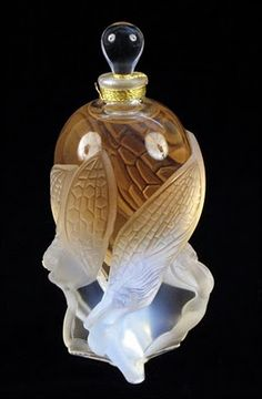 Lalique perfume bottle.