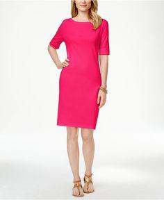 Karen Scott T-Shirt Dress, Only at Macy's - Dresses - Women - Macy's