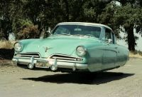 Lamm had long lusted after a 1953 Studebaker Commander Starliner. He bought this one in 1977 from author and historian Fred Fox. Text and photos copyright Michael Lamm 2012 Hover Car, Hover Bike, Vintage Cars, Antique Cars, Flying Car, Vintage Classics, Car Magazine, Going Out Of Business, Futuristic Cars